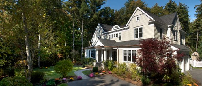 Custom Home in Concord MA - Musterfield Rd.